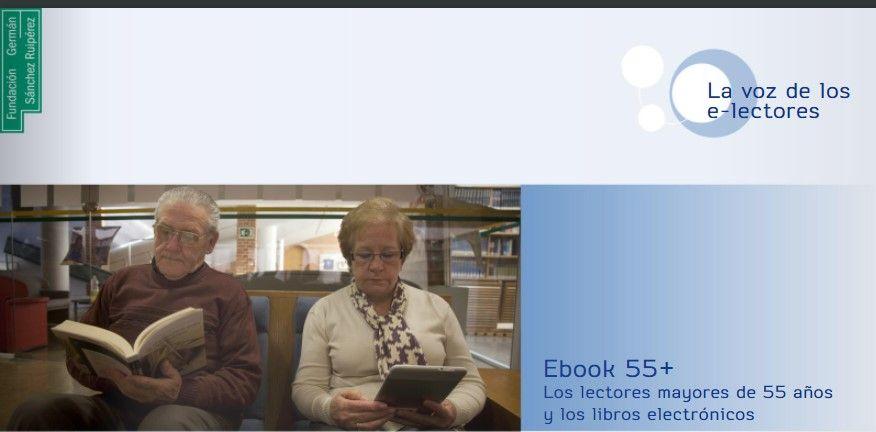 FGSR, hábitos de lectura digital a partir de los 55