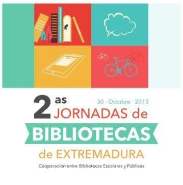 2as Jornadas de Bibliotecas de  Extremadura