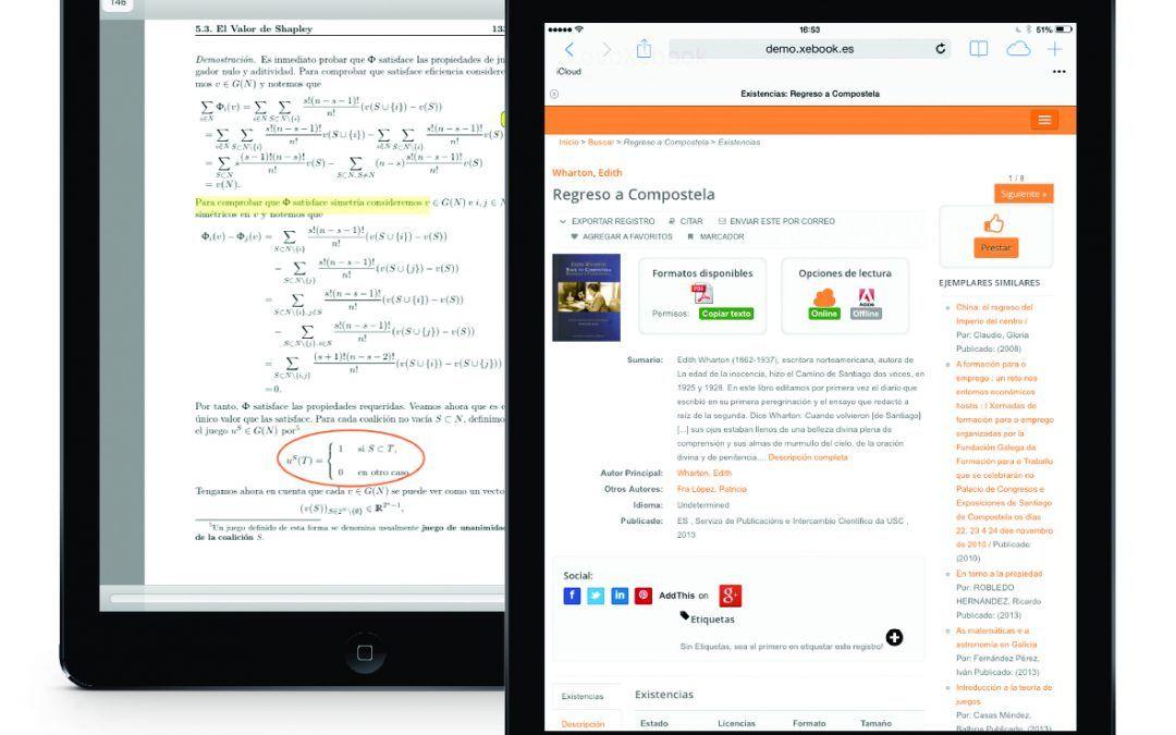 Xercode patrocina las IV Jornadas-Taller de formación sobre el libro electrónico de la UNE