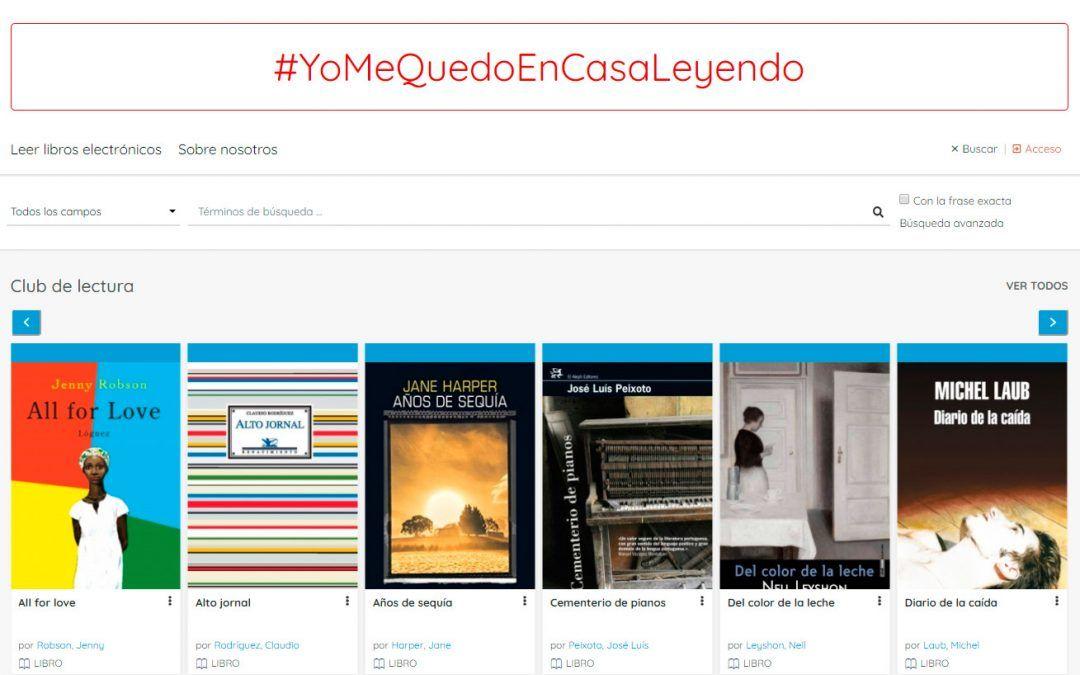 #YoMeQuedoEnCasaLeyendo con la Universidad de Salamanca y Xercode
