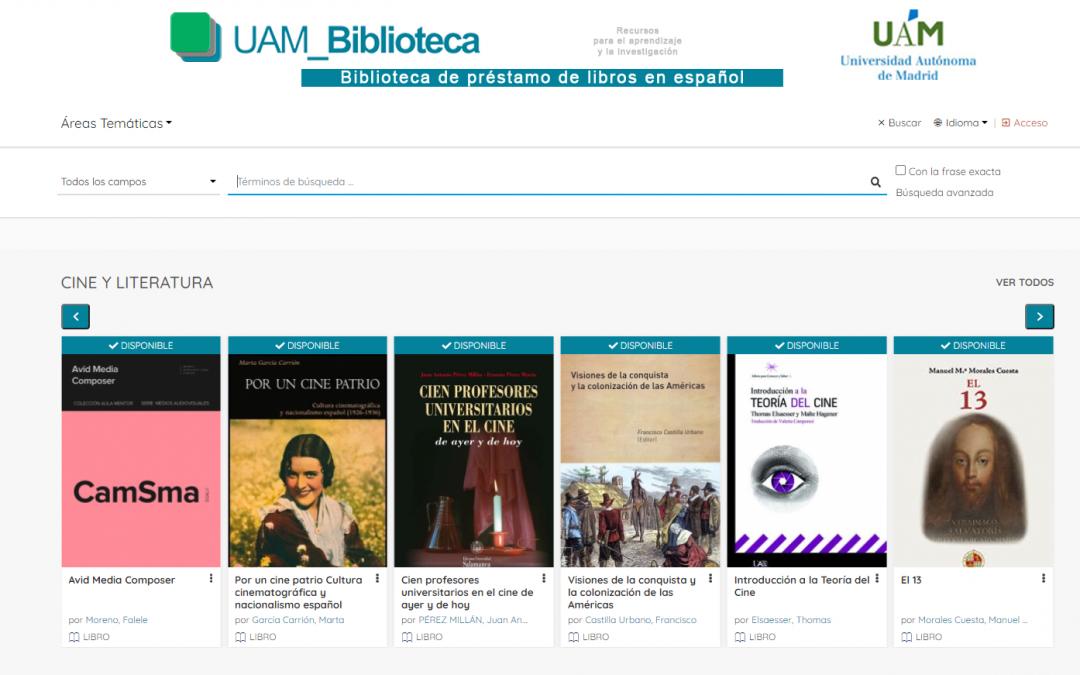 Conoce la nueva Biblioteca Digital de la Universidad Autónoma de Madrid #BLIES