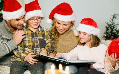 Bibliotecas, libros y Navidad: tres amigos inseparables