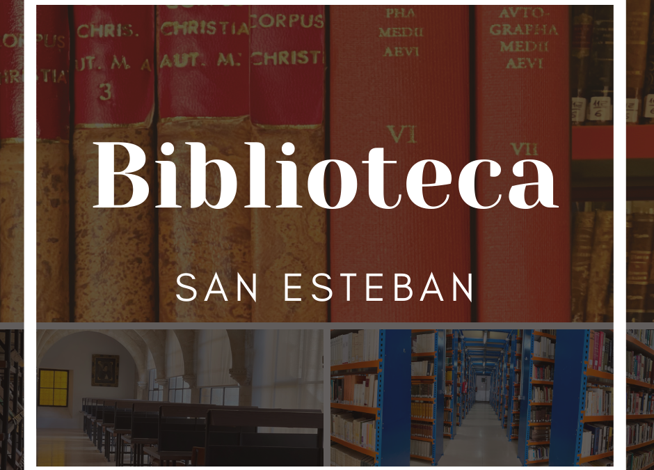 La biblioteca del Convento y de la Pontificia Facultad de San Esteban de Salamanca se actualiza