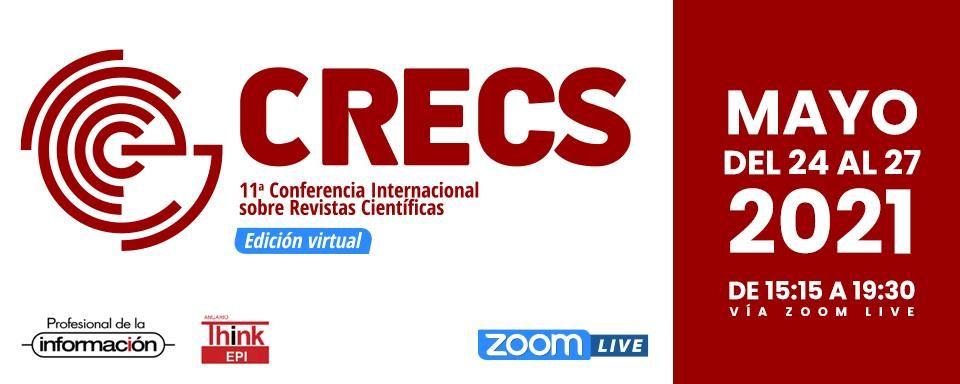 11ª Conferencia Internacional sobre Revistas de Ciencias Sociales y Humanidades, del 24 al 27 de mayo de 2021