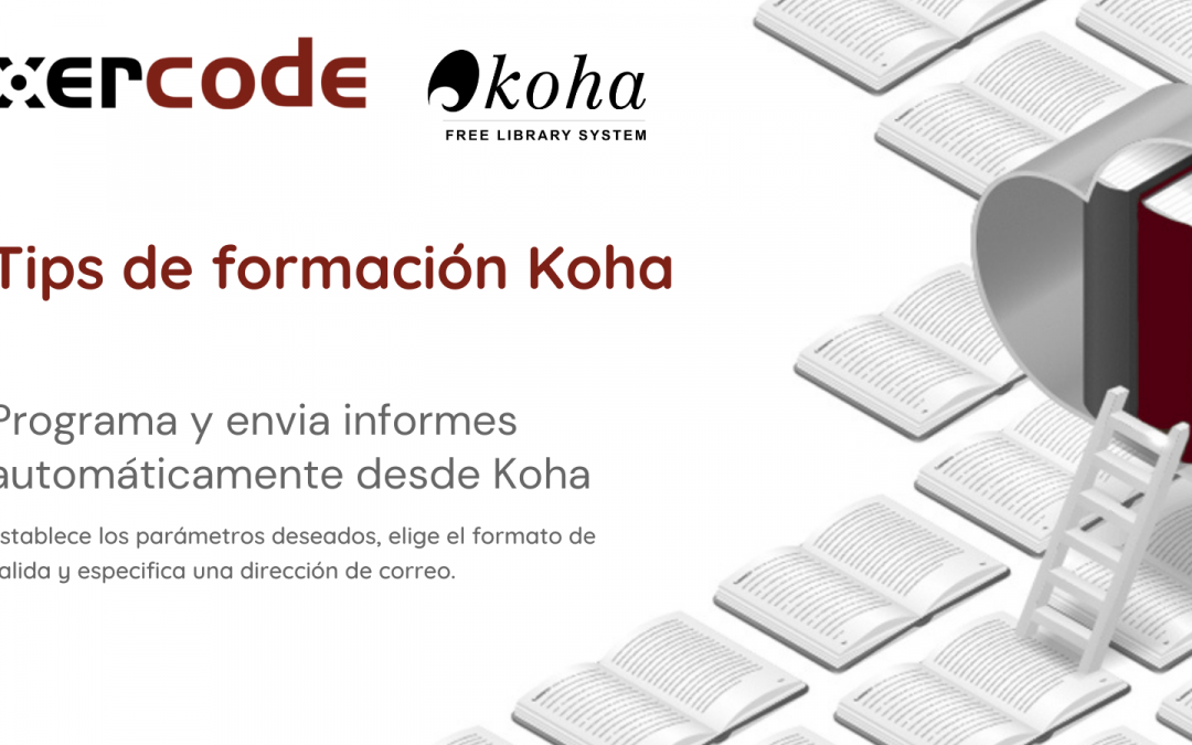 Envío de informes en Koha